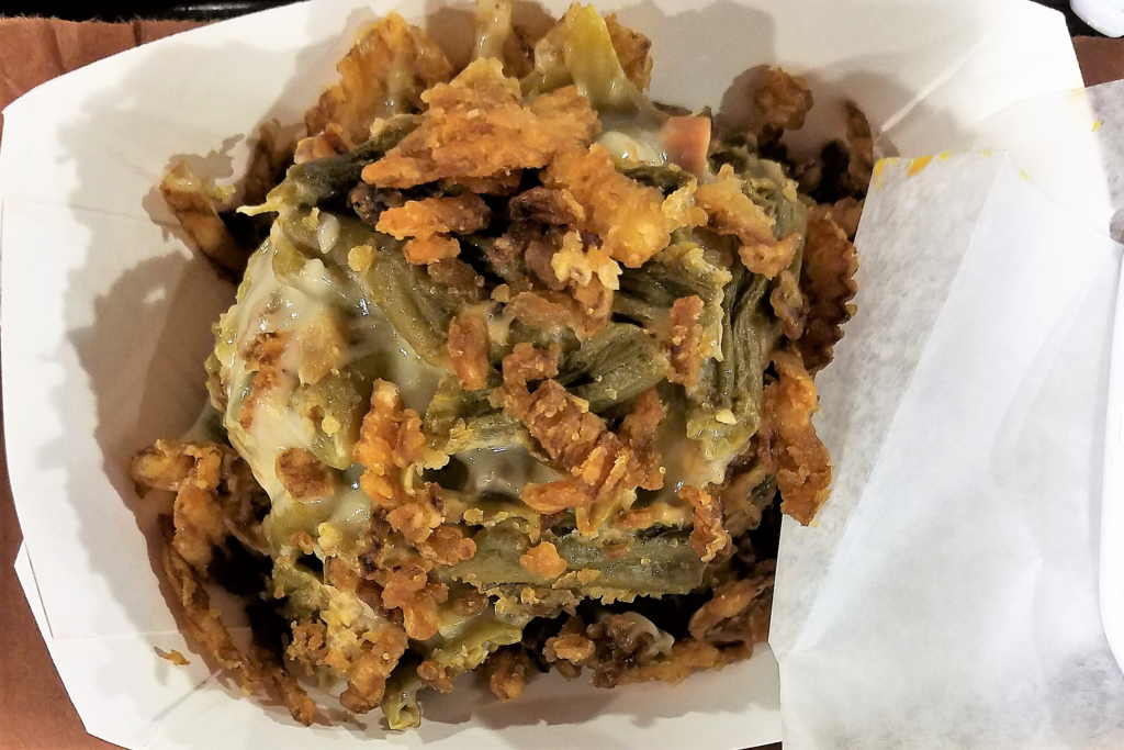 Big Tiny's BBQ Mooresville, NC Green Bean Casserole