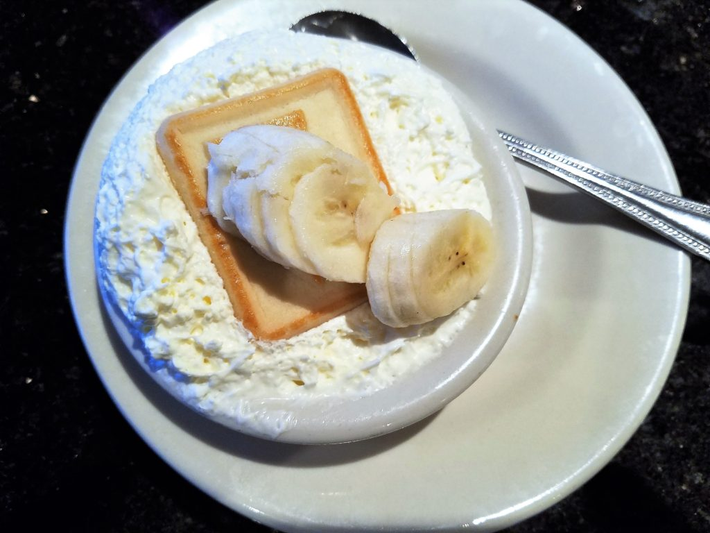 Dead End BBQ Knoxville, TN Banana Pudding