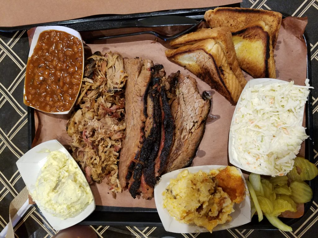 The Smoke Pit Concord, NC Pulled Pork, Brisket